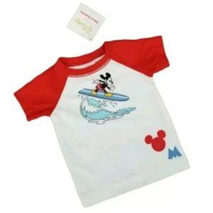 Hanna Andersson Disney Mickey Mouse Rash Guard Swi